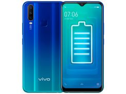 Смартфон vivo Y15 4/64GB Aqua Blue