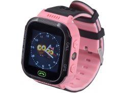 Часы детские GOGPS ME К12 Pink