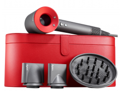 Фен DYSON HD01 Supersonic Red + чехол Red