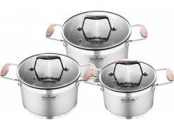 Набор посуды MAXMARK PRO Cooper 6 предметов (MK-LX3206A)