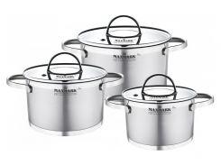 Набор посуды MAXMARK PRO Flat 6 предметов (MK-FL3306H)