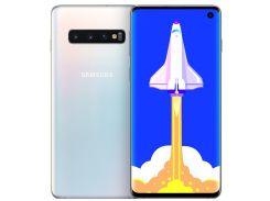 Смартфон SAMSUNG SM-G973F 8/128Gb Galaxy S10 White (SM-G973FZWDSEK)