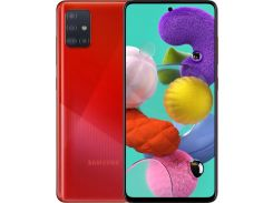 Смартфон SAMSUNG Galaxy A51 6/128GB Red (SM-A515FZRWSEK)