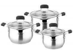Набор посуды MAXMARK PRO 6пр (MK-BLLH6506A)