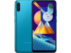 Смартфон SAMSUNG Galaxy M11 3/32GB Blue (SM-M115FMBNSER)