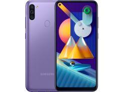 Смартфон SAMSUNG Galaxy M11 3/32GB Violet (SM-M115FZLNSER)