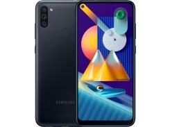 Смартфон SAMSUNG Galaxy M11 3/32GB Black (SM-M115FZKNSER)