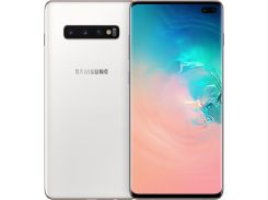 Смартфон SAMSUNG Galaxy S10 Plus 8/128GB Ceramic White (SM-G975FCWDSEK)