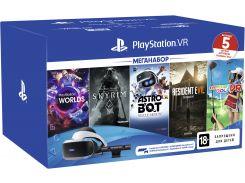 Очки виртуальной реальности PlayStation VR MegaPack (5 игр) (9998600)