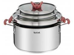 Набор посуды TEFAL Opti'space 2,1+3+5,2 (G720S674)