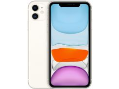 Смартфон APPLE iPhone 11 128GB White (MWM22)