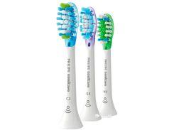 Насадки для электрической зубной щетки PHILIPS Sonicare Premium Pack (C3/G3/W3) HX9073/07