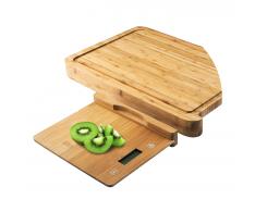 Весы кухонные Button 28.5х22.5 см (GL-ZB03)