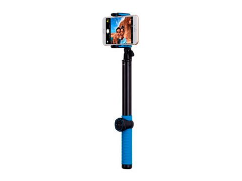 Монопод Momax Selfie Hero Bluetooth Selfie Pod 100cm (Blue/Black) KMS7D