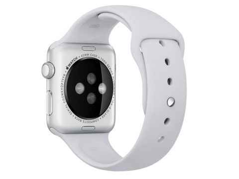 Ремешок Apple Fog Sport Band (White) S/M&M/L MLJU2 для Apple Watch 42mm