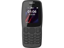 Nokia 106 Dual Sim 2018 Black (16NEBD01A02)