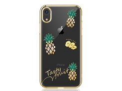Чехол Kingxbar Tropical Series (Pineapple Gold frame) для iPhone XR