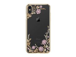 Чехол Kingxbar Flora Series (Gold frame) для iPhone Xs