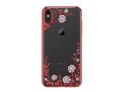 Чехол Kingxbar Flora Series (Red frame) для iPhone Xs Max
