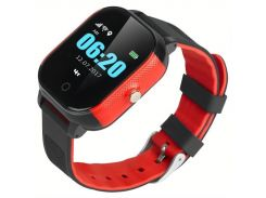 Смарт-часы GOGPS K23 (Black/Red)