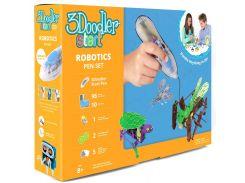 3D-ручка 3Doodler Start Роботехника (96 стержней, шаблон, аксессуары) Transparent (3DS-PDSP-MUL-R)