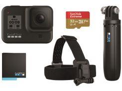 Камера GoPro HERO 8 Black БАНДЛ (CHDRB-801)