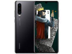 Huawei P30 2019 6/128Gb Black (51093NDK)