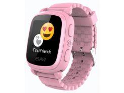 Детский телефон-часы с GPS трекером Elari KidPhone 2 (Pink) KP-2P
