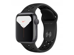 Apple Watch Nike Series 5 44mm Space Grey Aluminium Case with Anthracite Black Nike Sport Band MX3W2GK/A