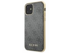 Чехол Guess 4G Hard Case PC/TPU (Grey) GUHCN61G4GG для iPhone 11