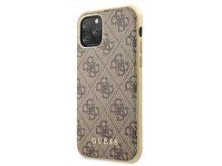 Чехол Guess 4G Hard Case PC/TPU (Brown) GUHCN65G4GB для iPhone 11 Pro Max