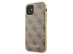 Чехол Guess 4G Hard Case PC/TPU (Brown) GUHCN61G4GB для iPhone 11
