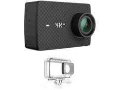 Экшн-камера YI 4K Action Camera Waterproof Kit (Black) YI-91107