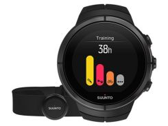 Смарт-часы c нагрудным пульсометром Suunto Spartan Ultra All Black Titan HR (ss022654000)