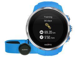 Смарт-часы с нагрудным пульсометром Suunto Spartan Sport HR (Blue) ss022652000