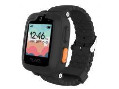Детский телефон-часы с GPS трекером Elari KidPhone 3G (Black) KP-3GB