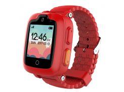 Детский телефон-часы с GPS трекером Elari KidPhone 3G (Red) KP-3GR