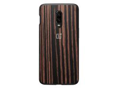 Чехол фирменный OnePlus Ebony (Wood Bumper) для OnePlus 6T
