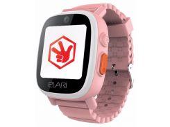 Детский телефон-часы с GPS трекером Elari FIXITIME 3 (Pink) ELFIT3PNK