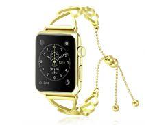 Ремешок Heart Style Watch Bangle Apple Watch 38-40mm (Gold)