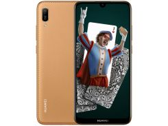 Huawei Y6 2019 2/32Gb (Brown Faux Leather)