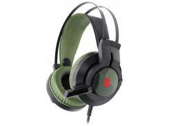 Гарнитура игровая A4 Tech J437 Bloody (Army Green)