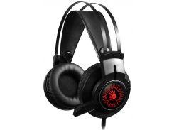 Гарнитура игровая A4 Tech J437 Bloody (Black)