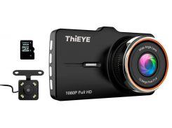 Видеорегистратор ThiEYE с камерой заднего вида Carbox 5R Dash Cam Real 1080P FullHD