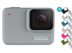 Камера GoPro HERO 7 (White) + чехол Sleeve & Lanyard