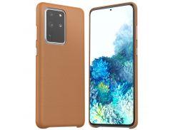Чехол Araree Pellis (Brown) AR10-00838B для Samsung Galaxy S20 Ultra