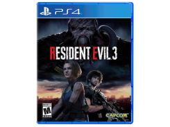Диск Resident Evil 3 (Blu-ray, Russian subtitles) для PS4