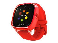 Детские смарт-часы с GPS-трекером Elari KidPhone Fresh (Red) KP-F/Red