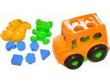 Цены на Песочный набор, Автобус (оранж...