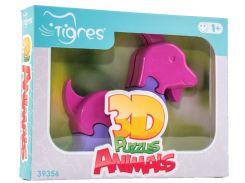 3D пазлы Животные Козлик, 8 элементов, Тигрес